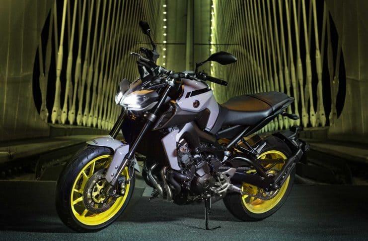 Yamaha MT09 har fått nytt utseende og får mye skryt i testen