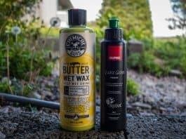 Mine utvalgte produkter til rengjøring av motorsykkelen