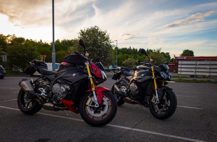 I dag ble det vask og polering av motorsykkel og litt dekksparking