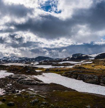 Flott tur fra Utladalen Camping via Sognefjellet til Trondheim!